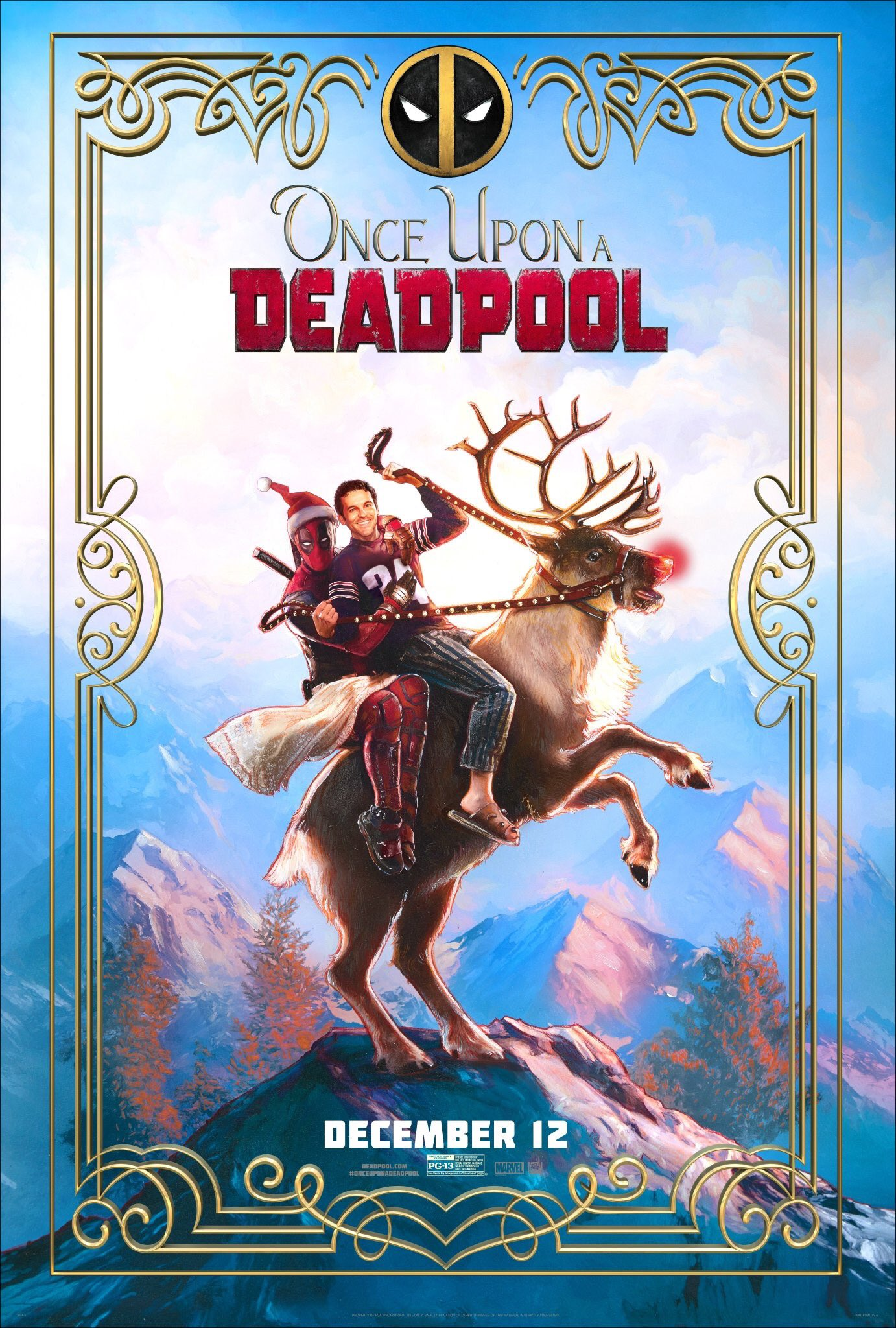 Deadpool Había una vez un Deadpool Película Completa HD 720p [MEGA] [LATINO] 2018
